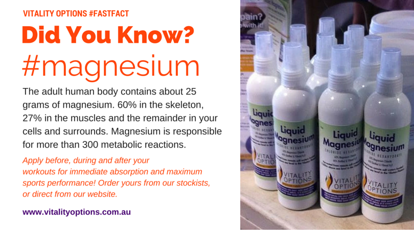 Magnesium use in sport | Sports Recovery